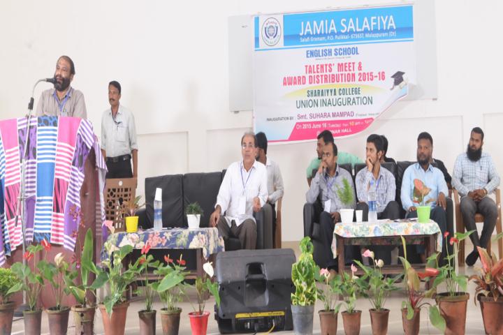 Jamia Salafiya English School-Talent Meet