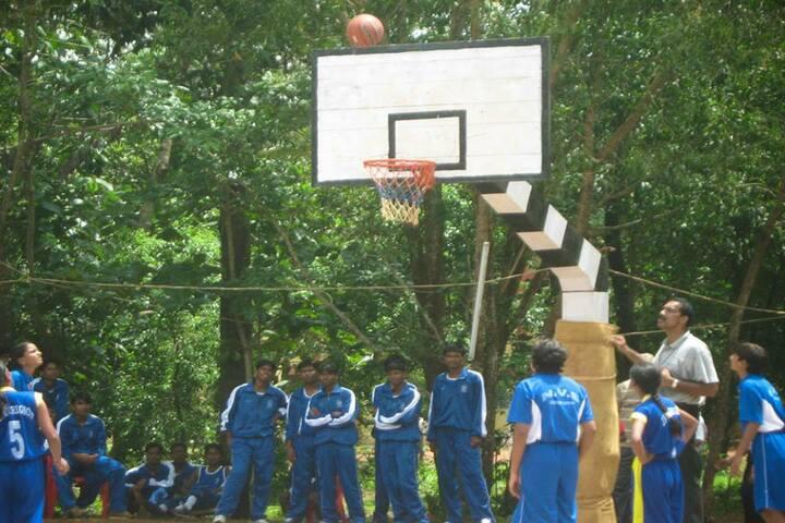 Jawahar Navodaya Vidyalaya- Basket Ball Court