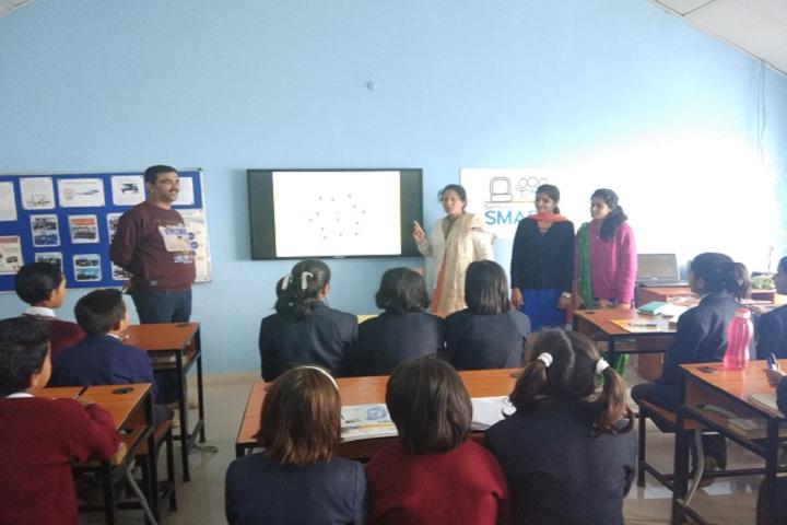 Jawahar Navodaya Vidyalaya-Classroom with teacher