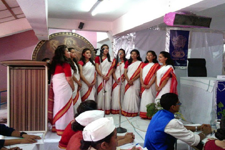 Jawahar Navodaya Vidyalaya-Events singing