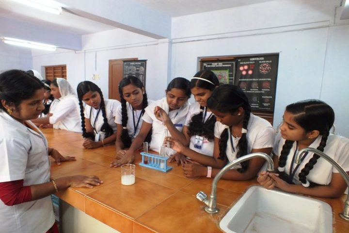 Jawahar Public School-Chemistry Lab