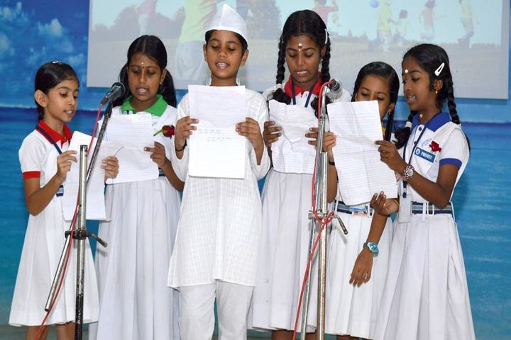 Jawahar Public School-Singing Activity
