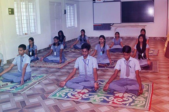 Jnanodayam Public School-Yoga Day