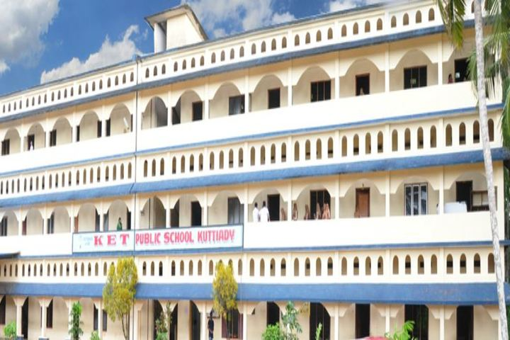 K E T Public School-Campus View