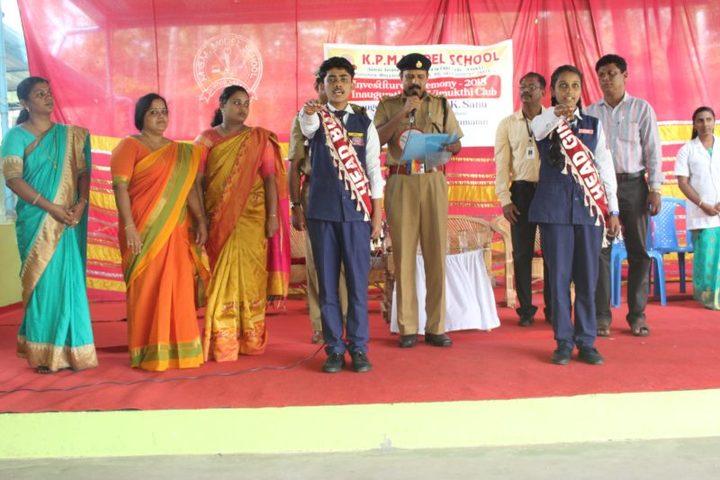 K P M Model School-Investiture Ceremony