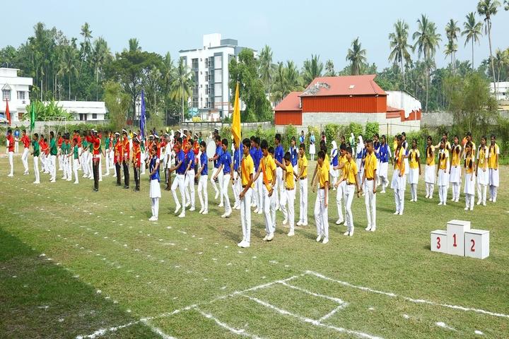 Kasturba English Medium School-Investiture Ceremony