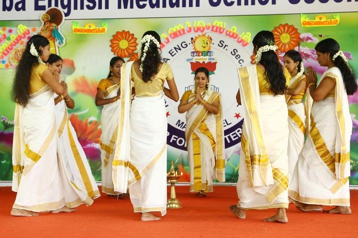 Kasturba English Medium School-Onam Celebrations