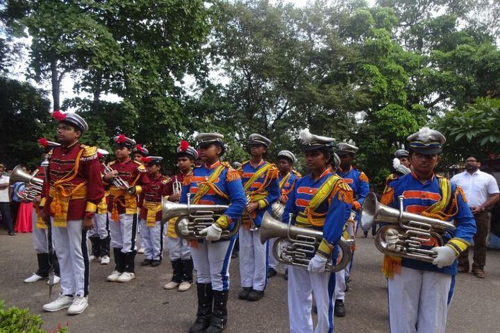 Kendriya Vidyalaya-Band Troop