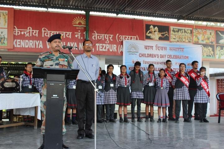 Kendriya Vidyalaya No 1-Childrens day