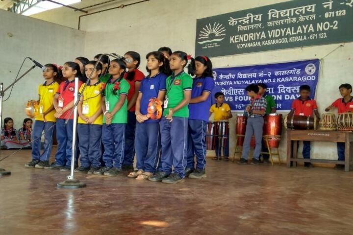 Kendriya Vidyalaya No 2-Singing Activity