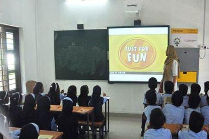 KMJ Central School-Smart Classroom