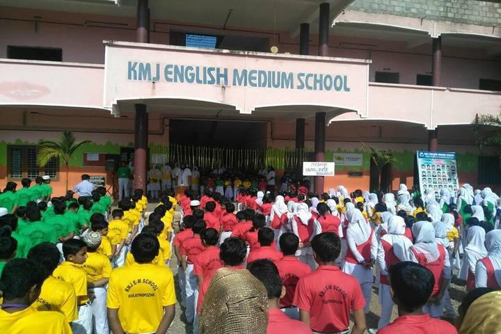 KMJ English Medium School-Assembly