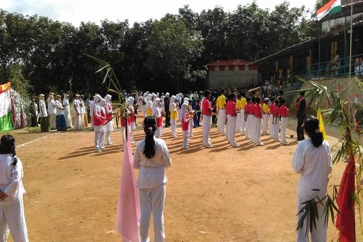 KMJ English Medium School-Independence Day