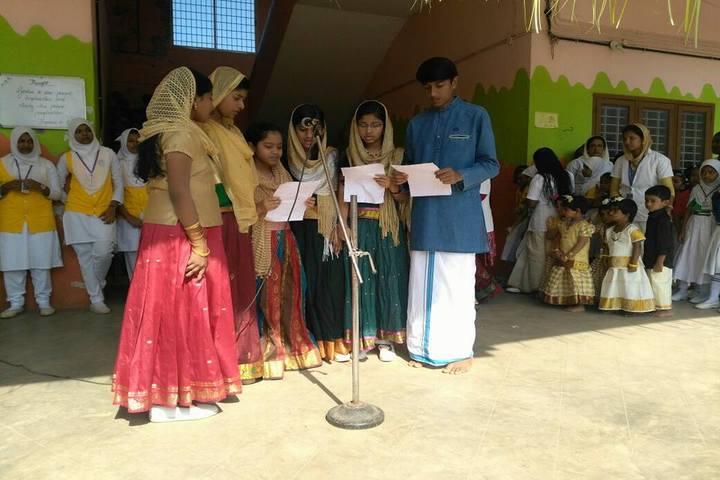 KMJ English Medium School-Onam Celebrations