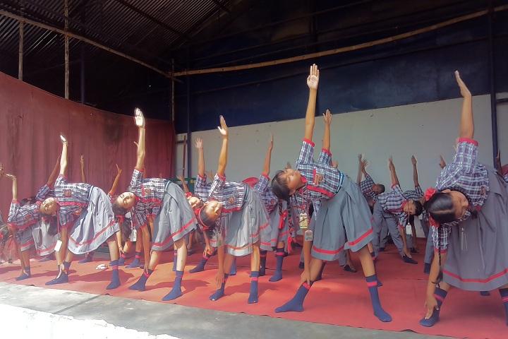 Kendriya Vidyalaya-Yoga activites