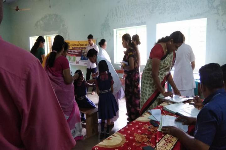 Kottappuram Central School-Health Checkup