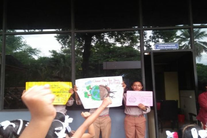 Krishana English Medium School-Earth Day