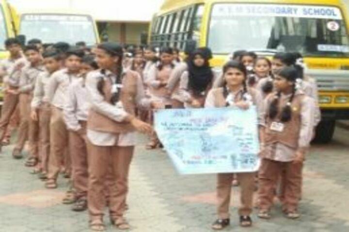 Krishana English Medium School-Anti drug Rally