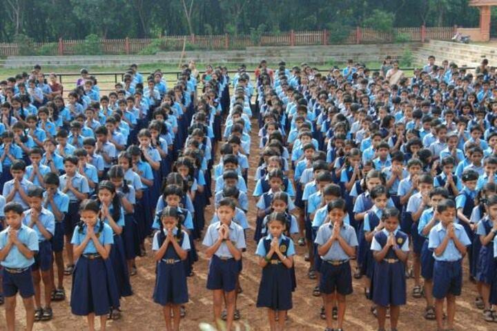 Kulapati Munshi Bhavans Vidya Mandir-Assembly