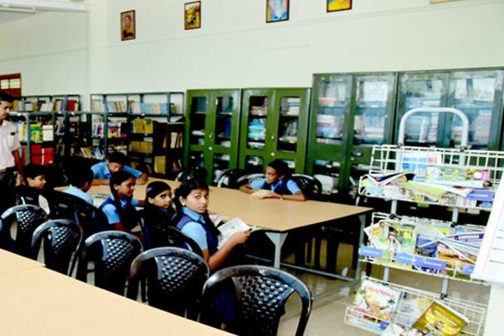 Kulapati Munshi Bhavans Vidya Mandir-Library