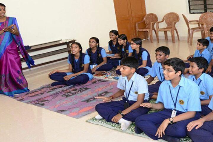 Kulapati Munshi Bhavans Vidya Mandir-Music Class