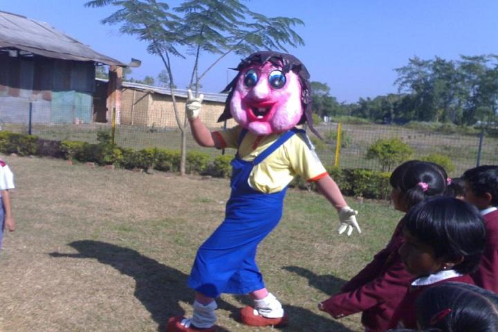 Kidzee And Sunshine High School-Playground