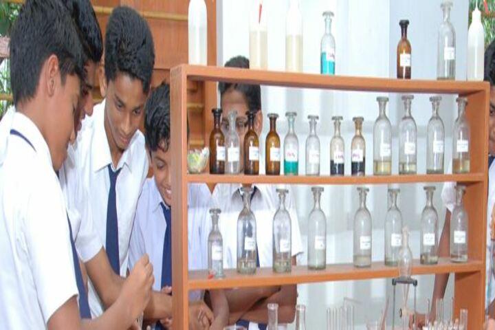 Leo XIII English Medium School-Chemistry Lab