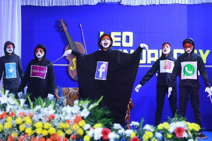 Leo XIII English Medium School-Skit Performance