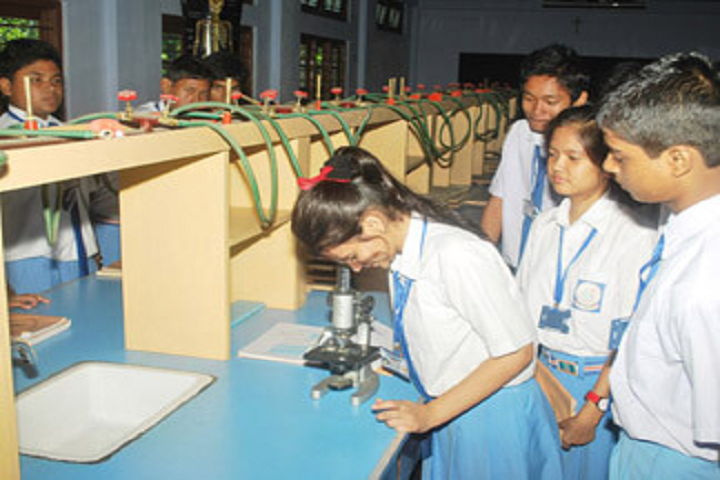 Little Flower School-Science Lab