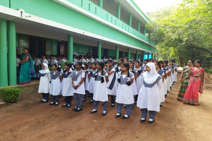 Lord Krishna Residential Public School-Assembly