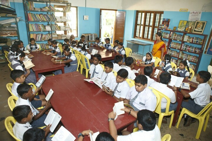 Lord Krishna Residential Public School-Library
