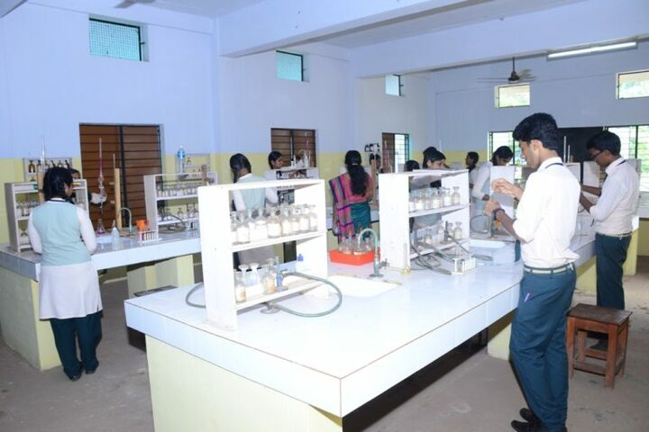 Lords Public School- Chemistry Lab