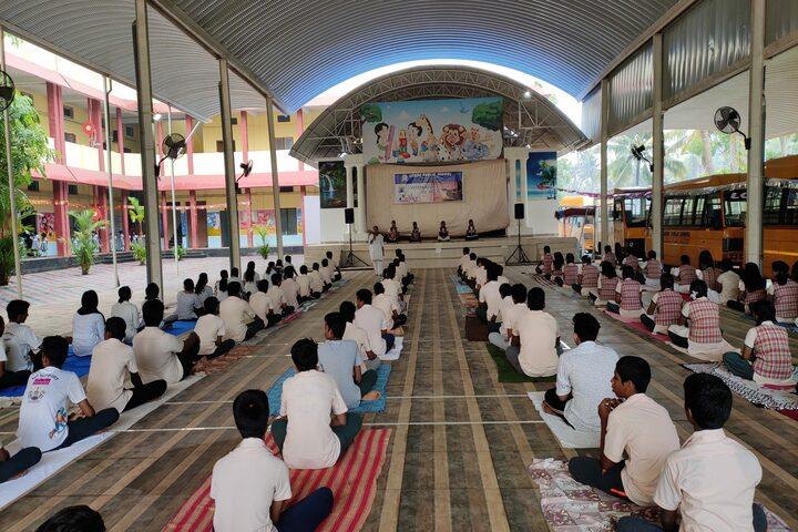 Lords Public School-Yoga Day