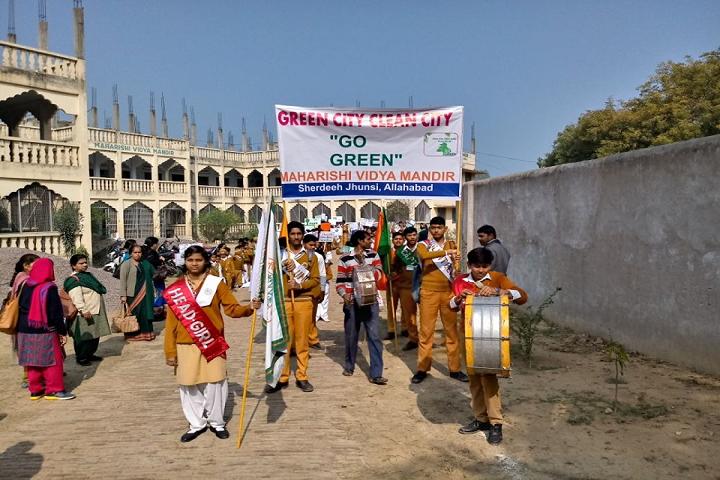 Maharishi Vidya Mandir- Go Green