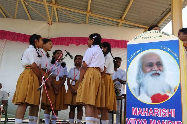 Maharishi Vidya Mandir- Speech