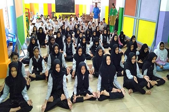 MET Public School- Yoga