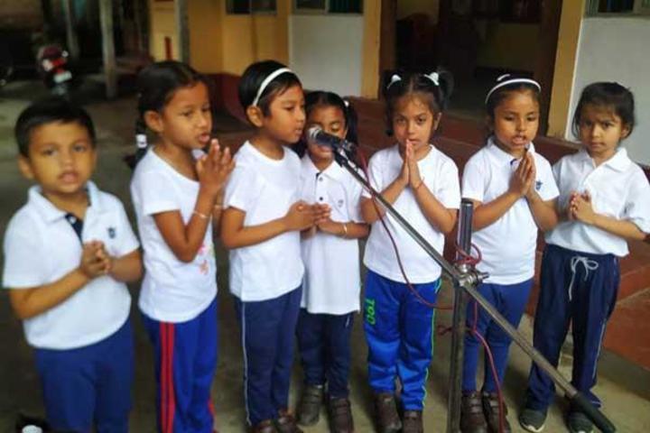 Maharshi Vidya Mandir- Singing