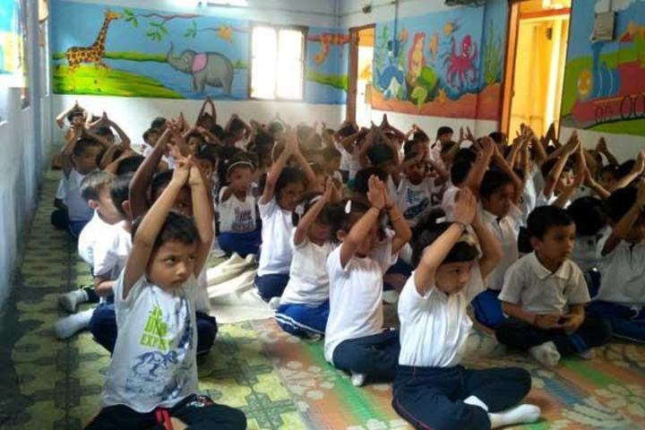 Maharshi Vidya Mandir-Yoga Day