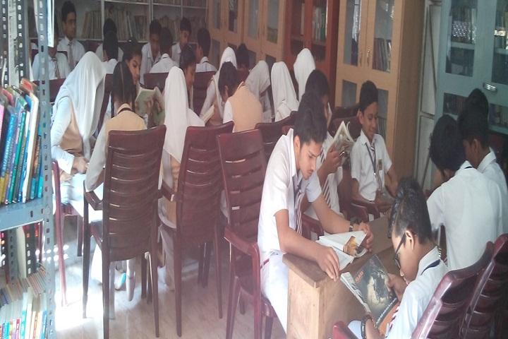 Mambaram English Medium School-Library