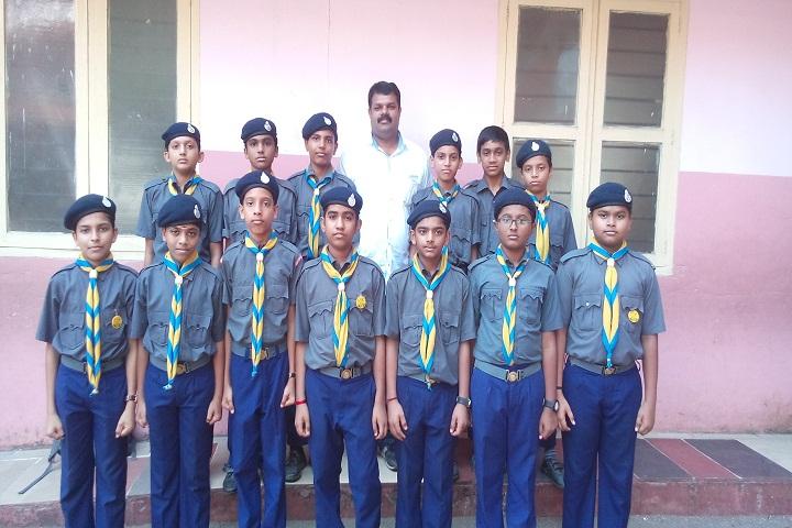 Mambaram English Medium School-NCC