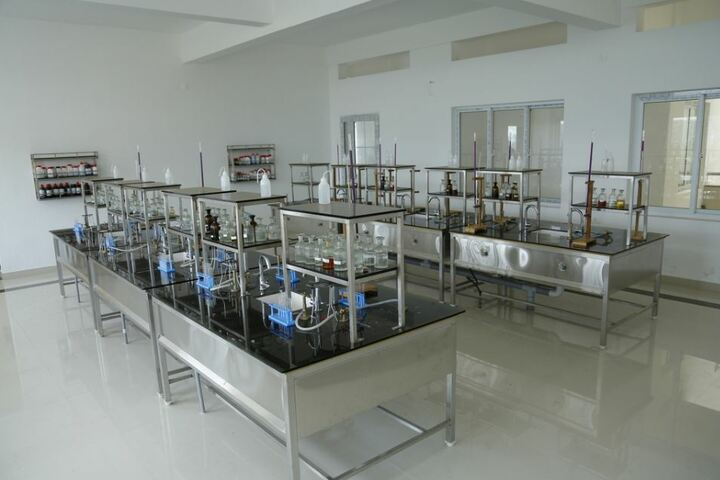 Manglalam English Medium Residential High School-Chemistry Lab