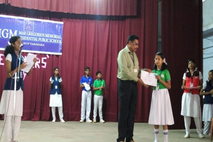 Mar Gregorious Memorial Residential Public School-Teachers Day Celebrations