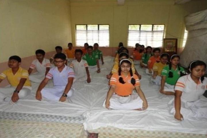 Maharshi Vidya Mandir- Meditation Hall