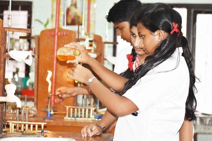 Marygiri English Medium School-Chemistry Lab