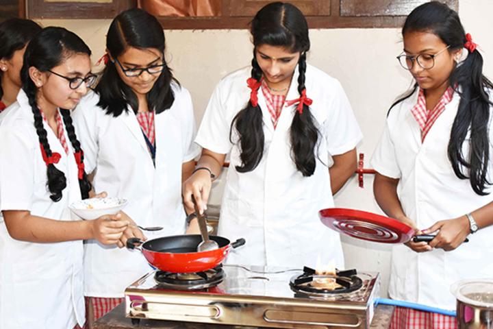 Marygiri English Medium School-Home Science Lab