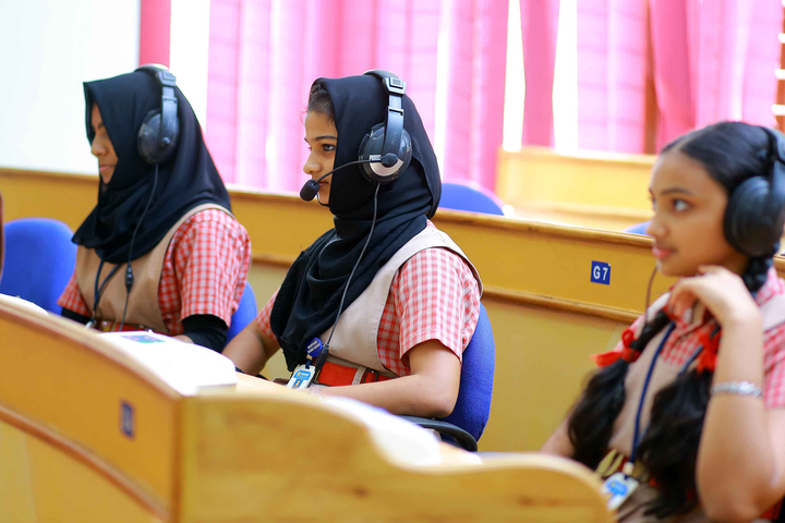 Marygiri English Medium School-Language Lab