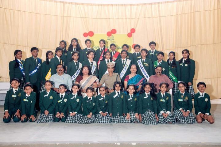 MCLEODs English School-Investiture Ceremony