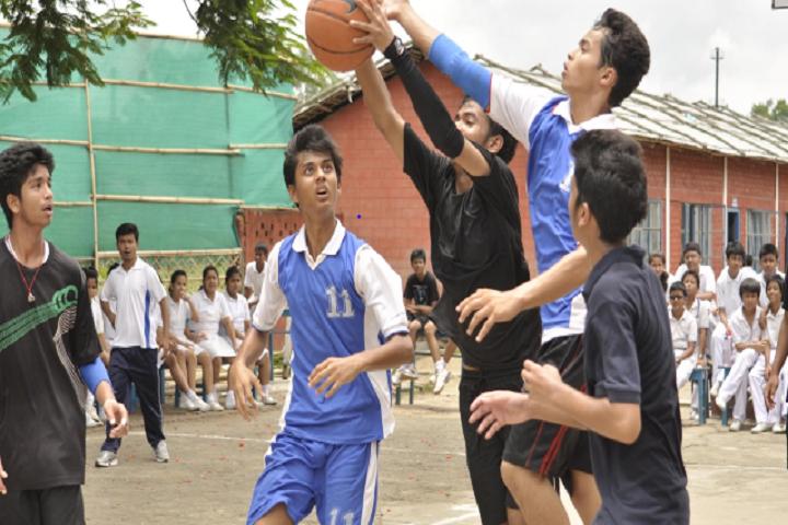 Maria s Public School- Basketball