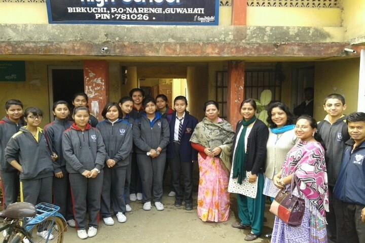Maria s Public School- Community service