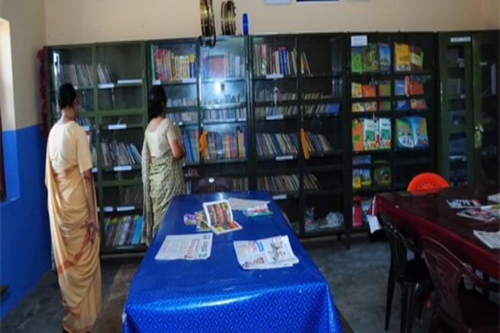 Mmskv English Medium School-Library